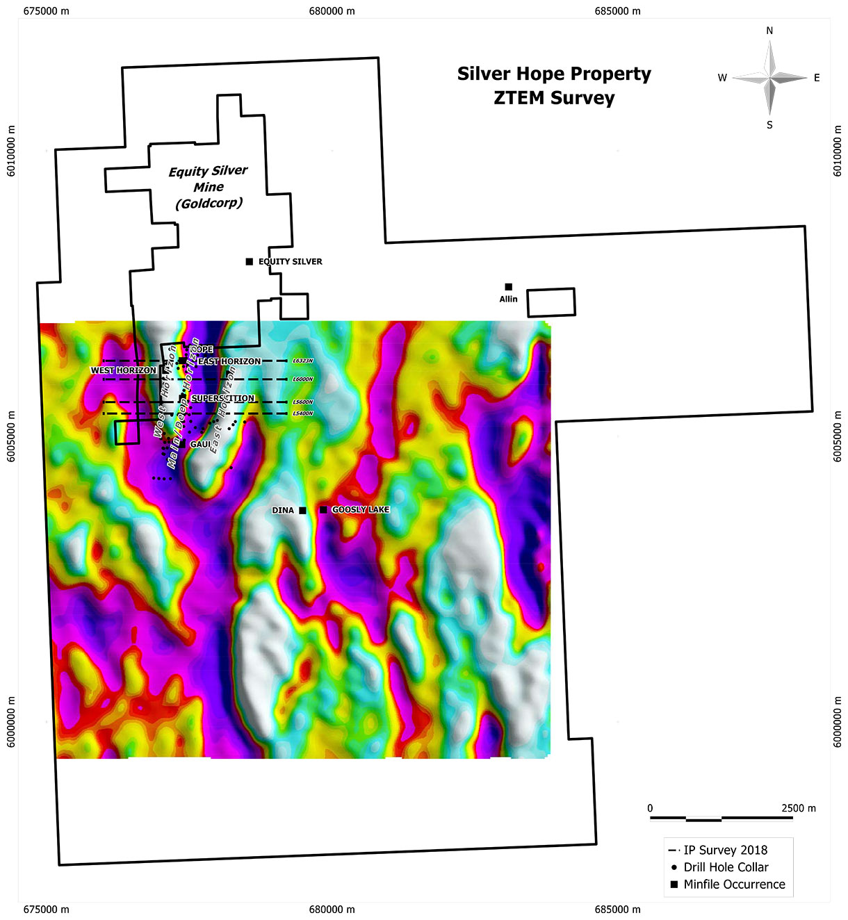 Silver Hope Property | Finlay Minerals Ltd